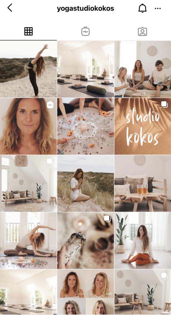 Instagram Yoga Studio Kokos