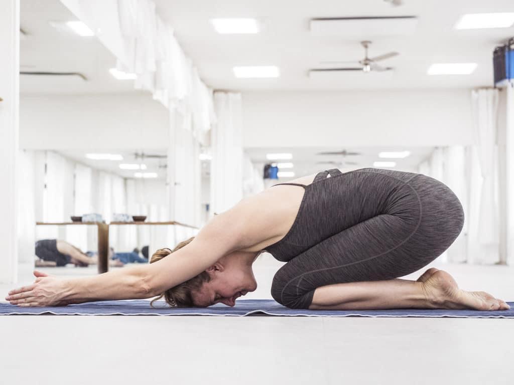 bikram yoga practice geramny woman