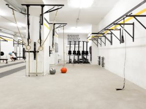 Crossfit vienna room box dungeon
