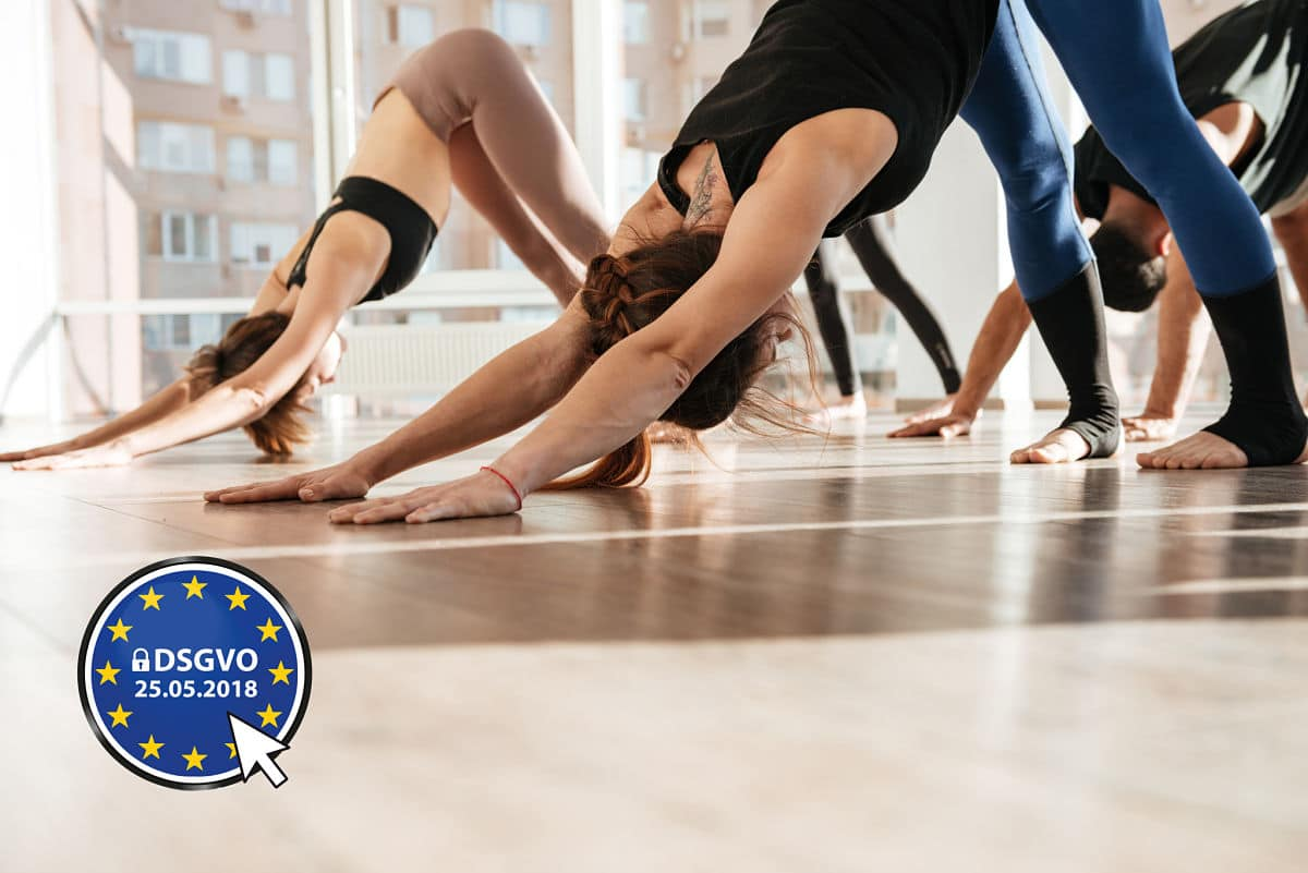 DSGVO GDPR Yoga