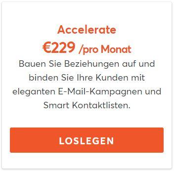 Mindbody Kosten Accelerate Paket