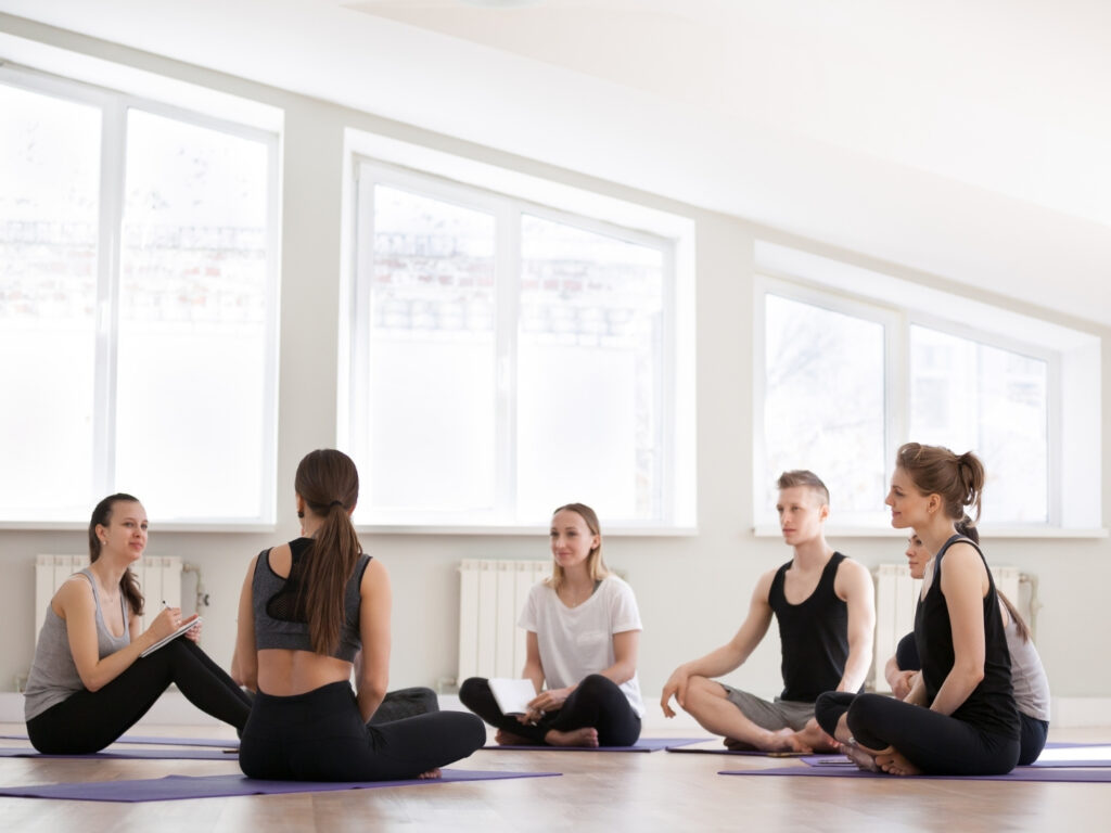 Nach der Yogalehrer Ausbildung als Yogalehrer selbständig machen