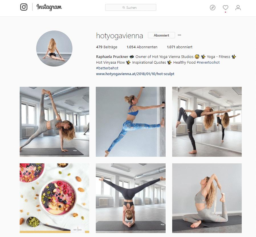 instagram hot yoga vienna posts