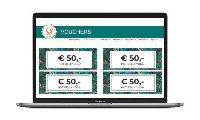 Vouchers online verkopen