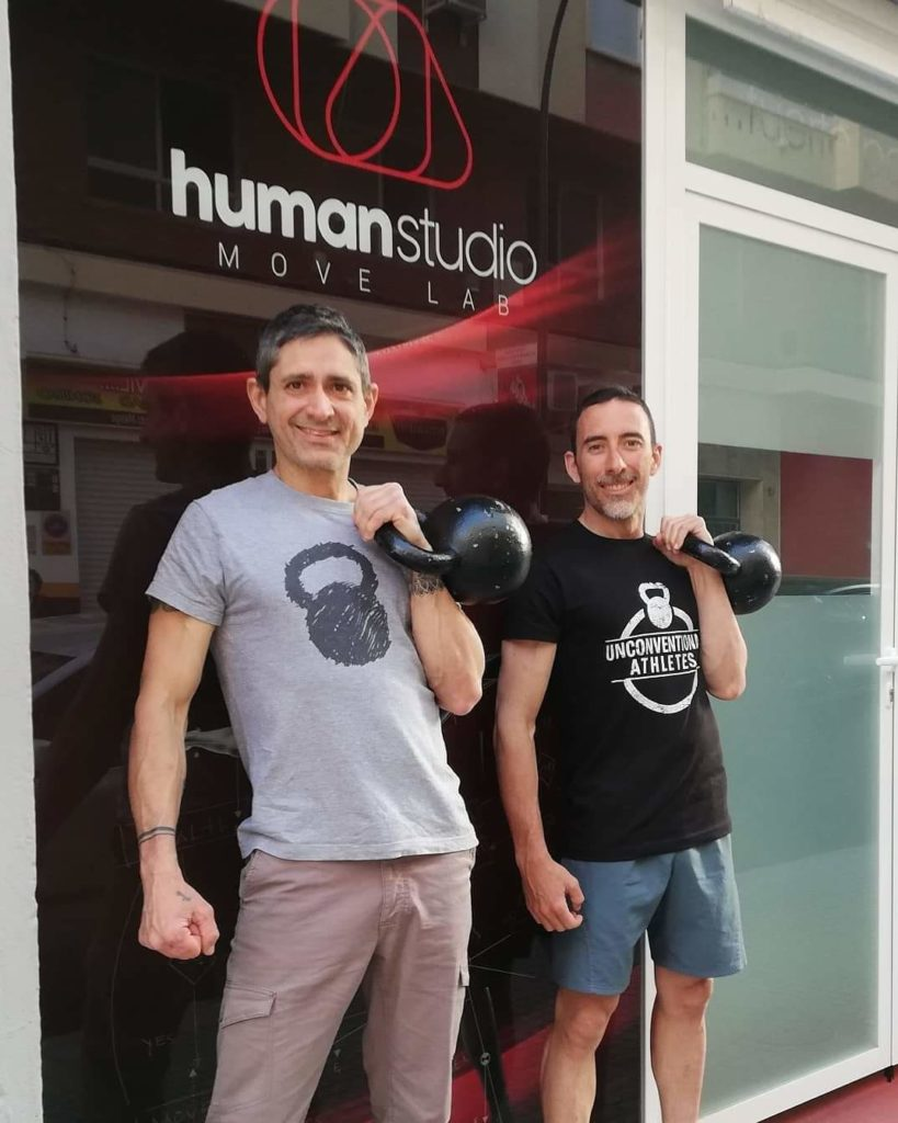 Owners from Human Studio Move Lab Malaga