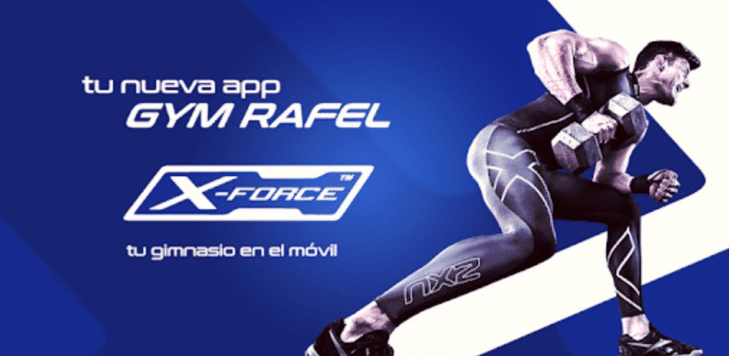 Caso práctico: Gym Rafel X-Force 3