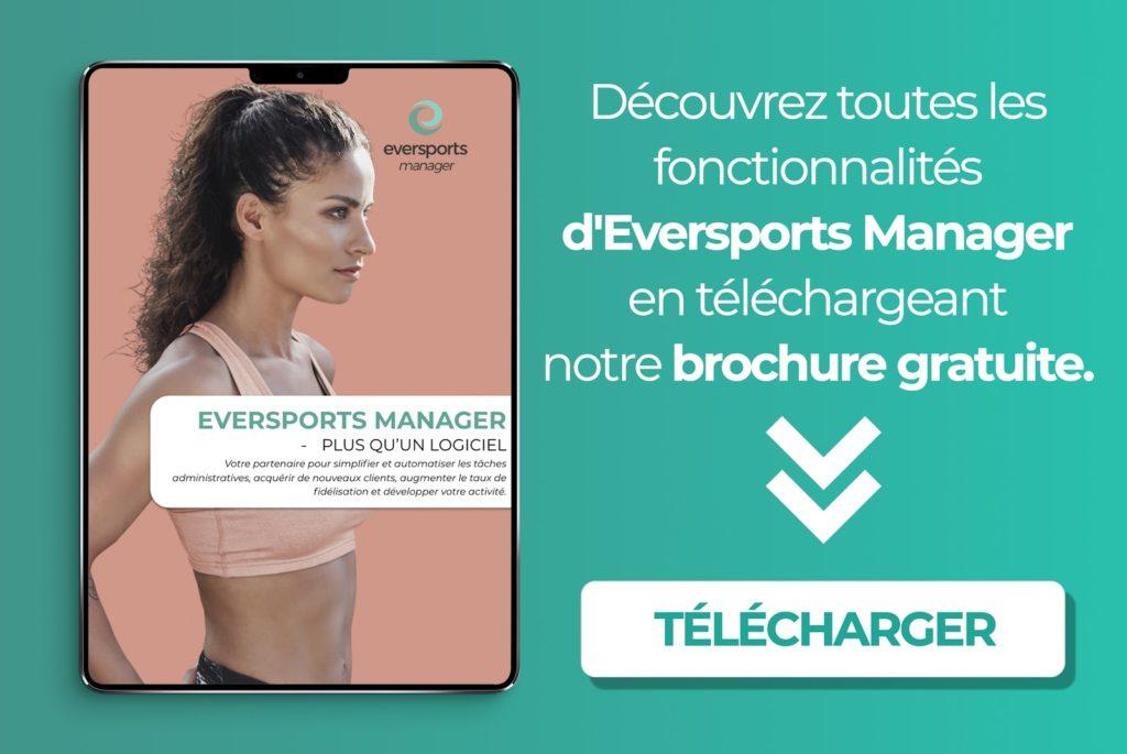 Téléchargez la brochure d'Eversports Manager