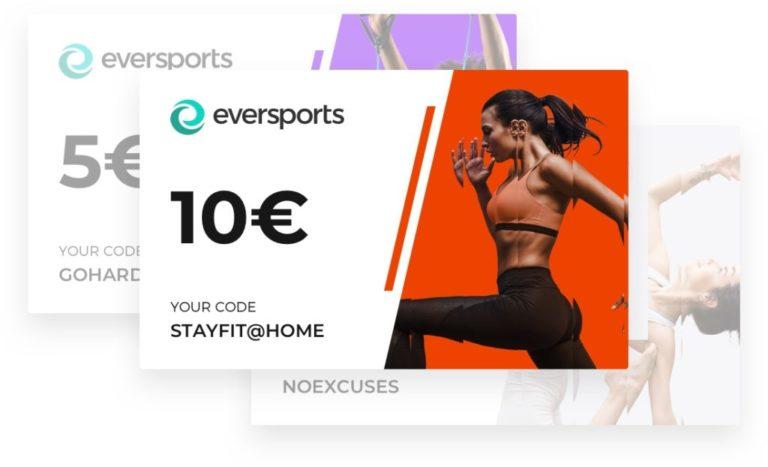 Eversports Corporate Fitness Gutscheine