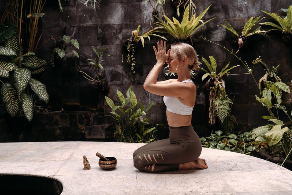 Audrey Hämmerle auf Bali