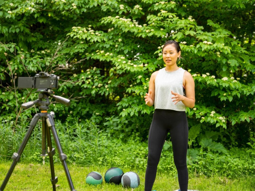 Hybrider Outdoor Fitness Kurs