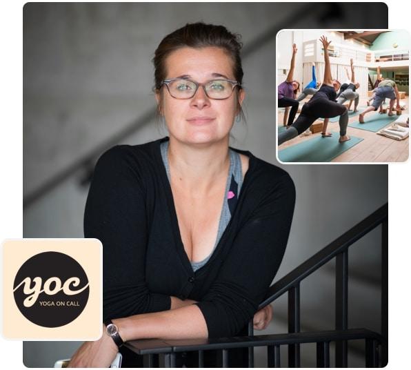 Yoga on Call über die Videothek