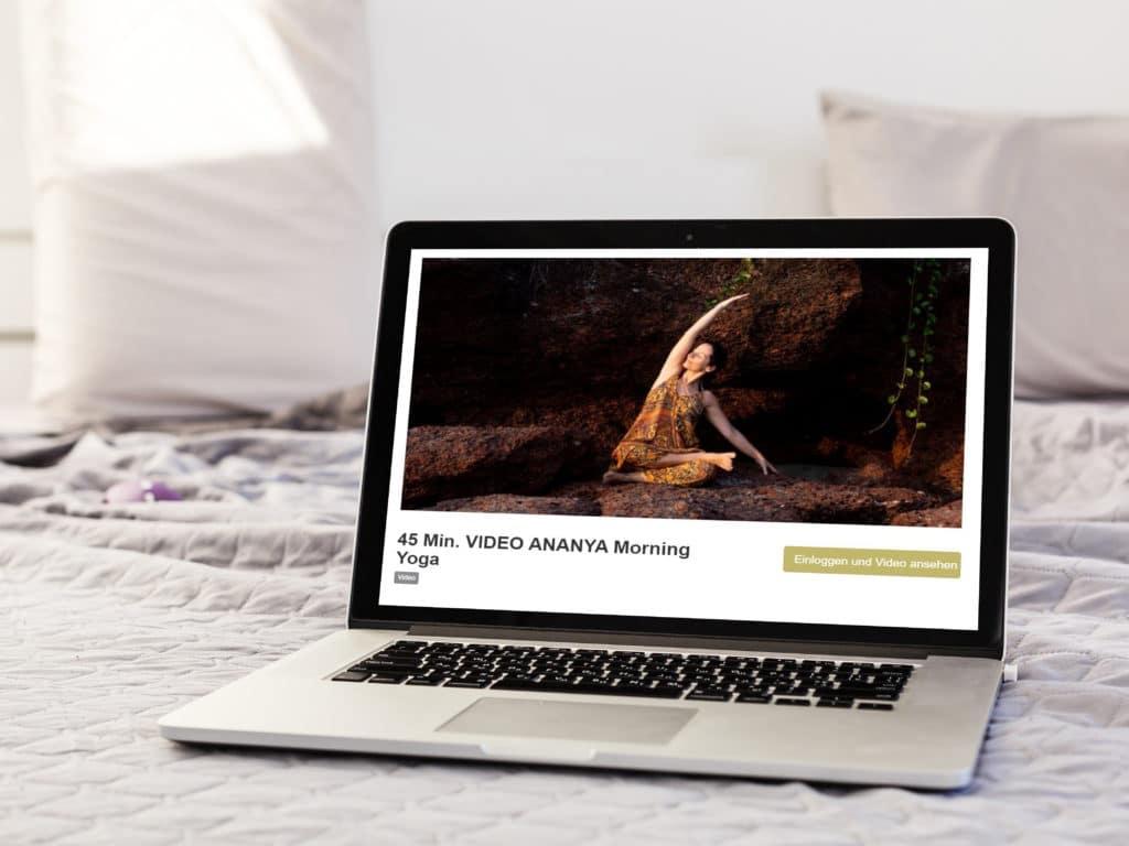 Ananya - Yoga Videos in der Videothek
