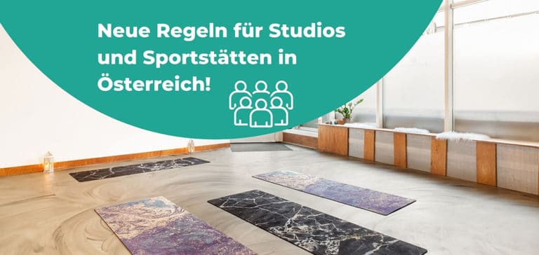 Coronaregeln für Studios und Sportstätten in Österreich