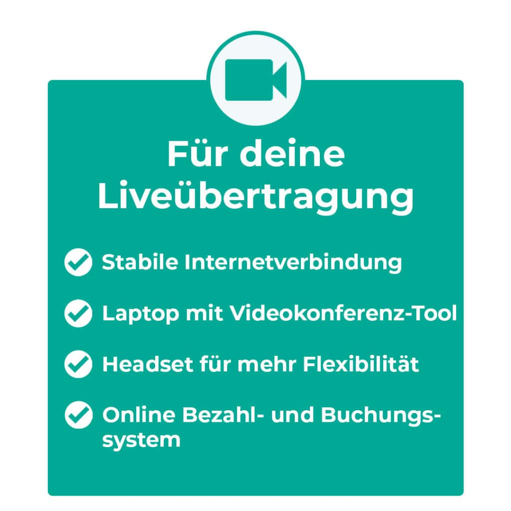 Online-Klassen Equipment