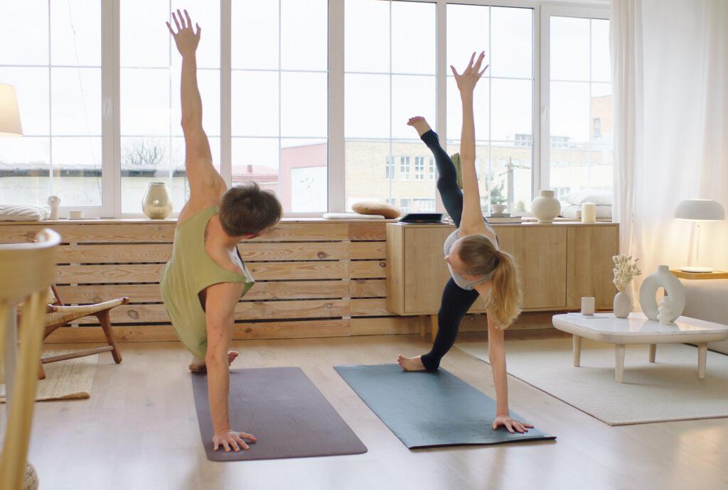 Online Yoga für Zuhause