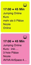 AirFitness Berlin Stundenplan