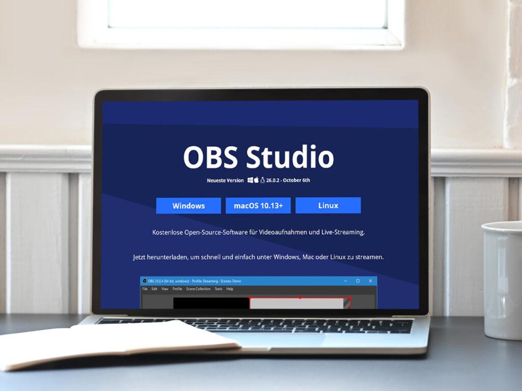 OBS Studio für Online Klassen
