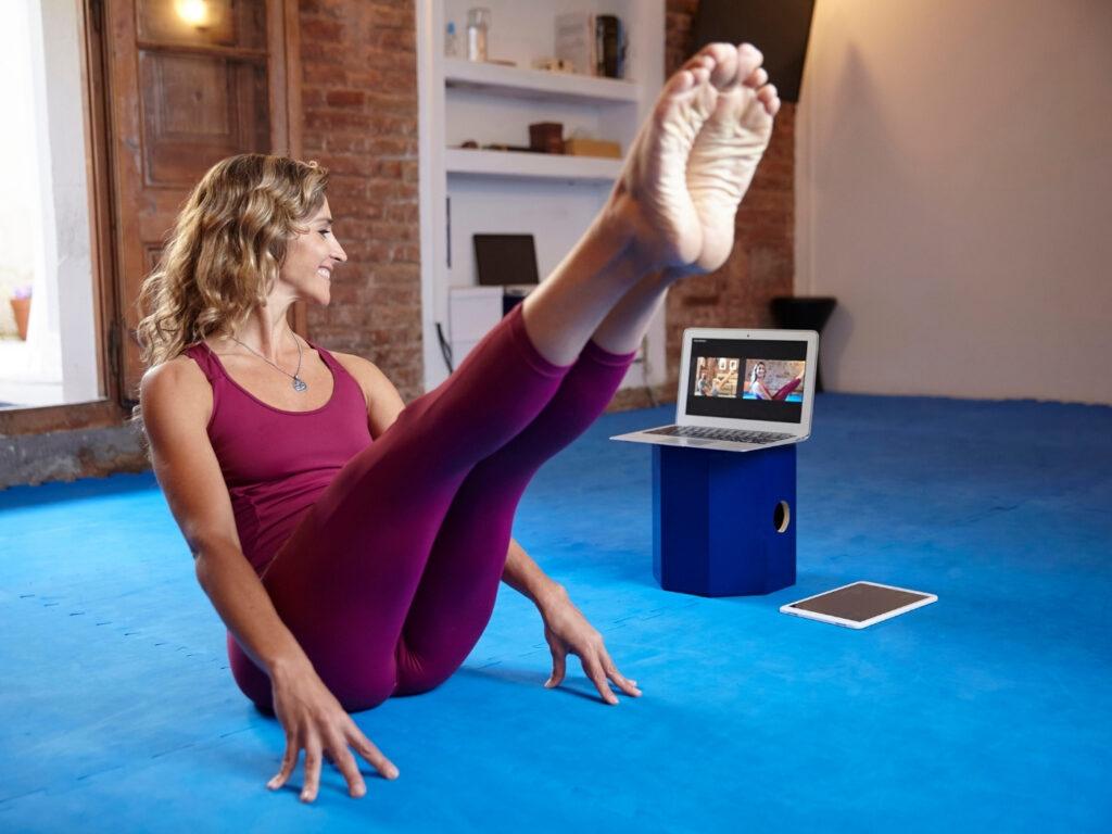 Online Pilates aufzeichnen