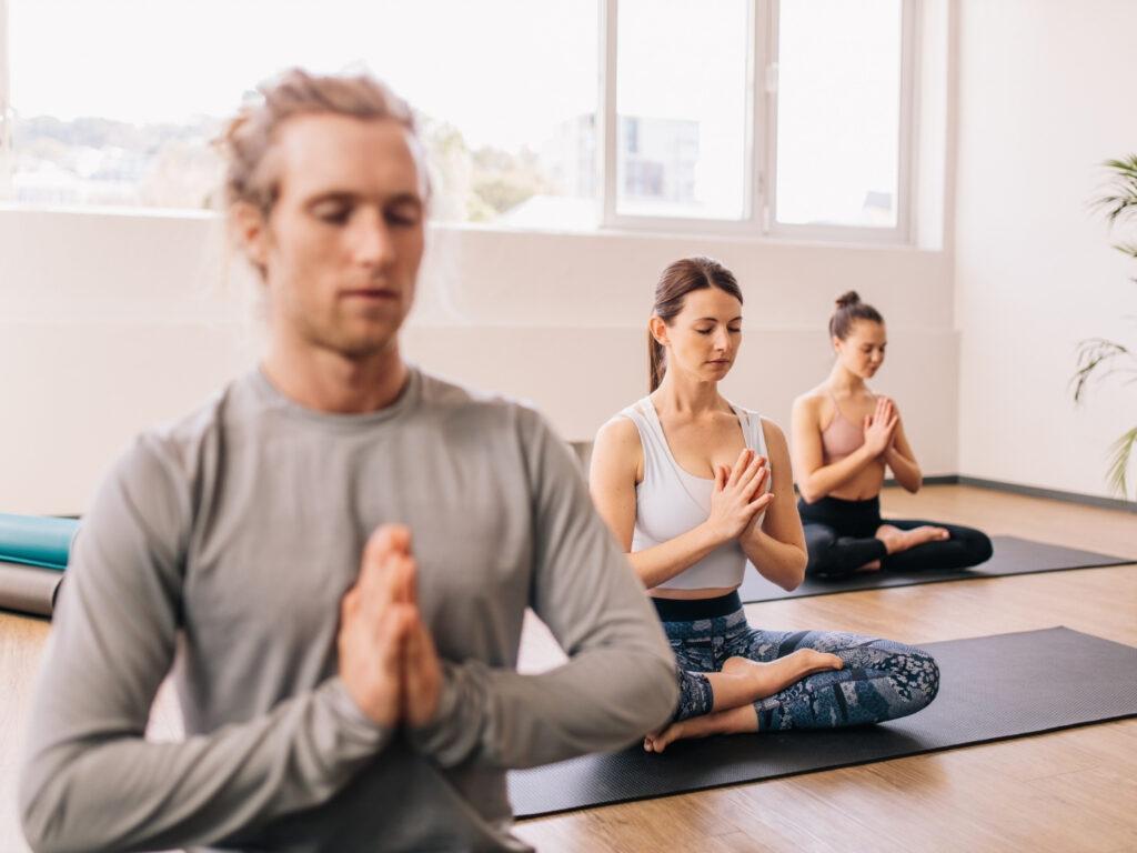 Yoga Studio nach Lockerung der Corona Regeln