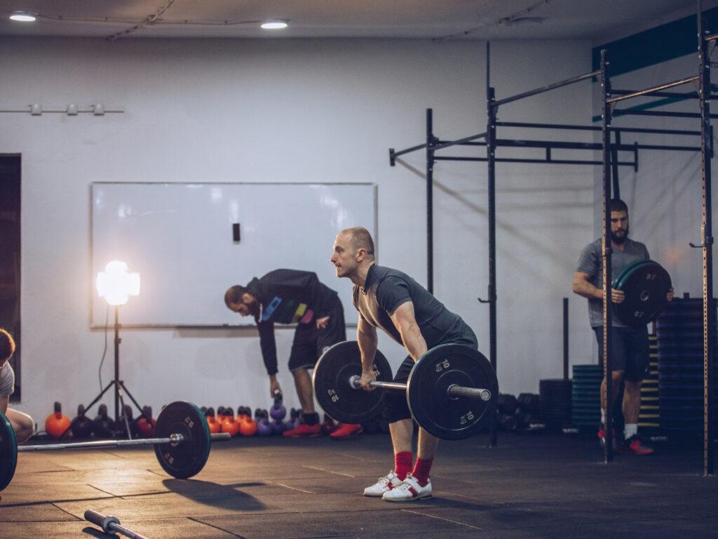 Functional Training in einer Box, nachdem Fitnessstudios wieder öffnen dürfen