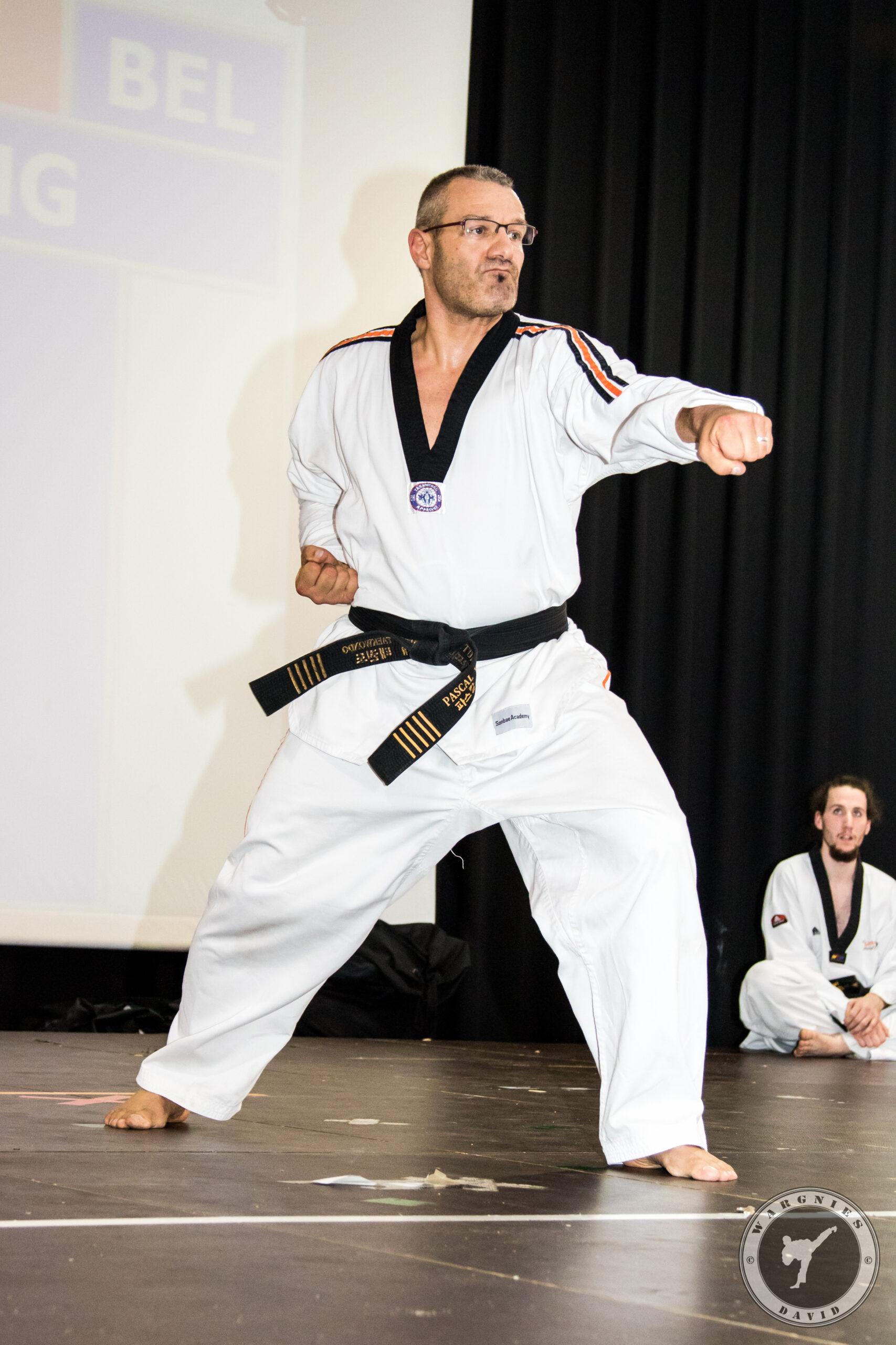 Taekwondo Sonbae Pascal