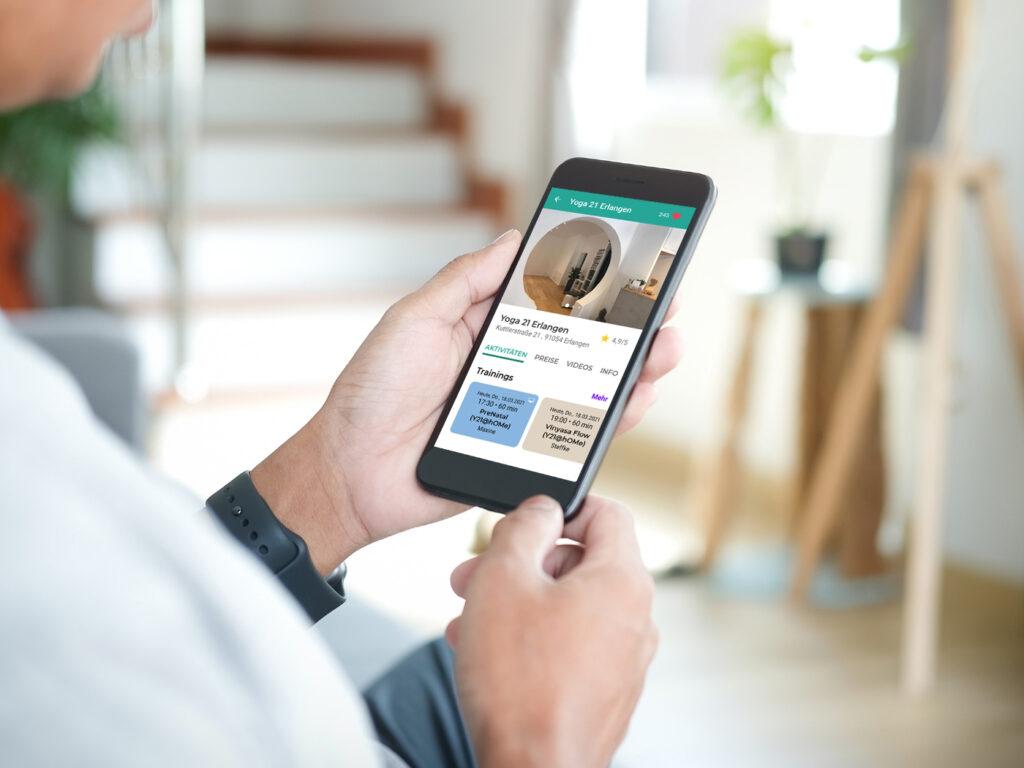Bewertungen für Yoga 21 in der Eversports App