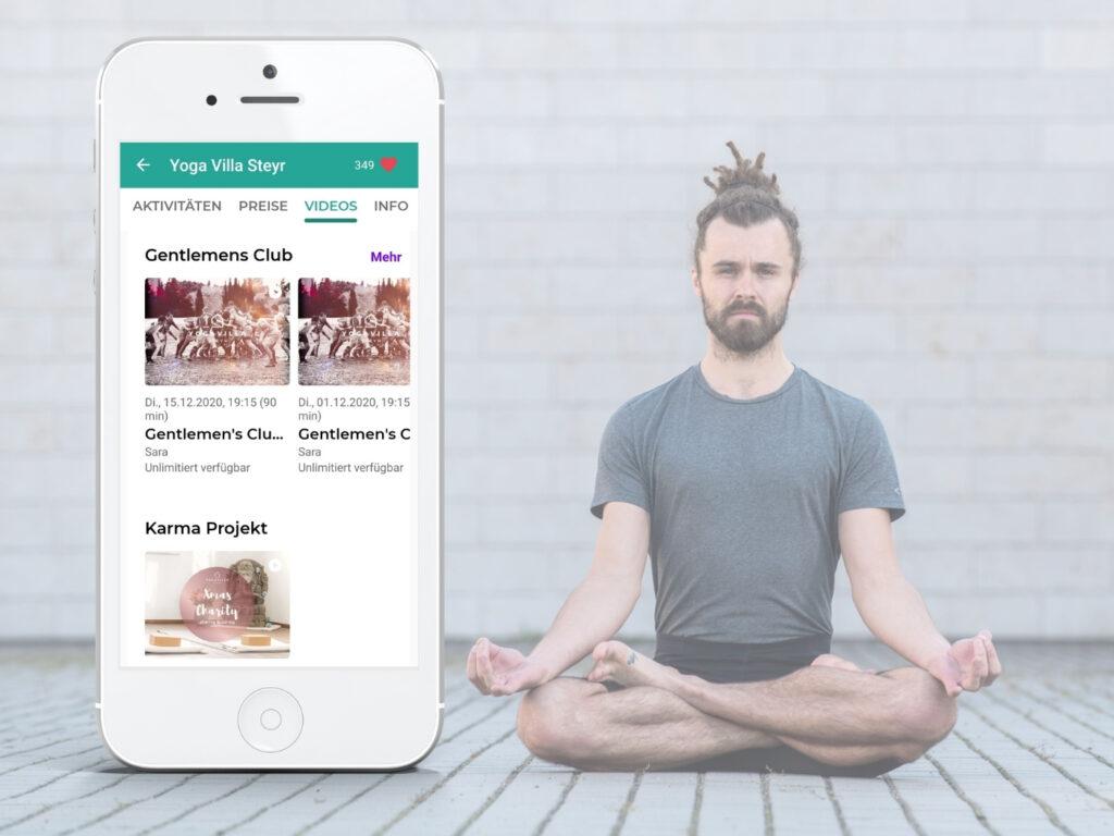 Gentleman Club - Angebot von der Yoga Villa Steyr