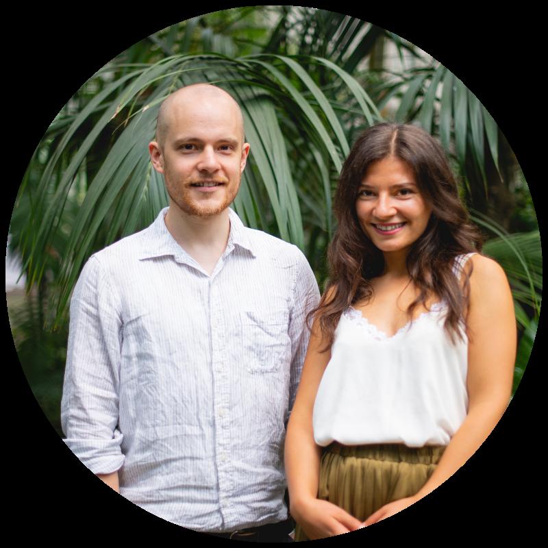 Tonka und Phillip von Mindfulife, Anbieter für Meditationslehrer Ausbildung