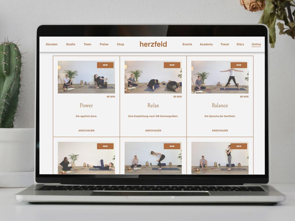 Studio herzfeld Online-Videothek