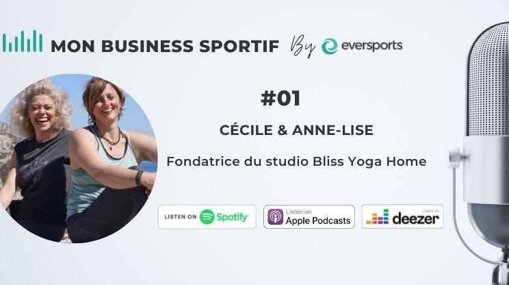 Découvrez dans ce 1er épisode comment Anne-Lise et Cécile se sont adaptées pendant le confinement et comment elles ont préparé la réouverture de leur studio Bliss Yoga Home.