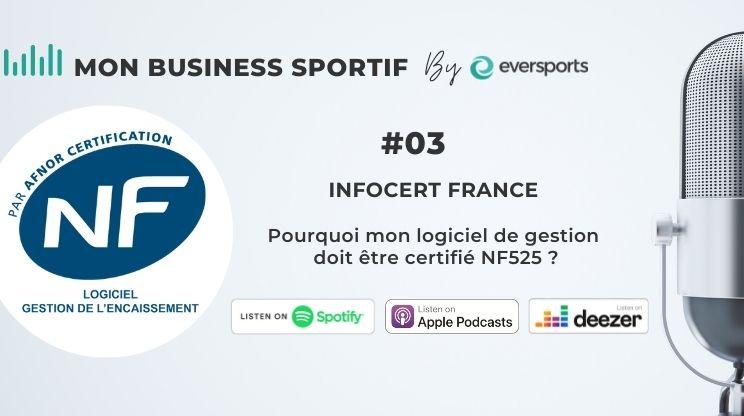 Dans ce 3ème épisode, Bruno Saurel et Dominique Decastel d'Infocert France nous parlent de la certification NF525 et de ce qu'elle garantit.