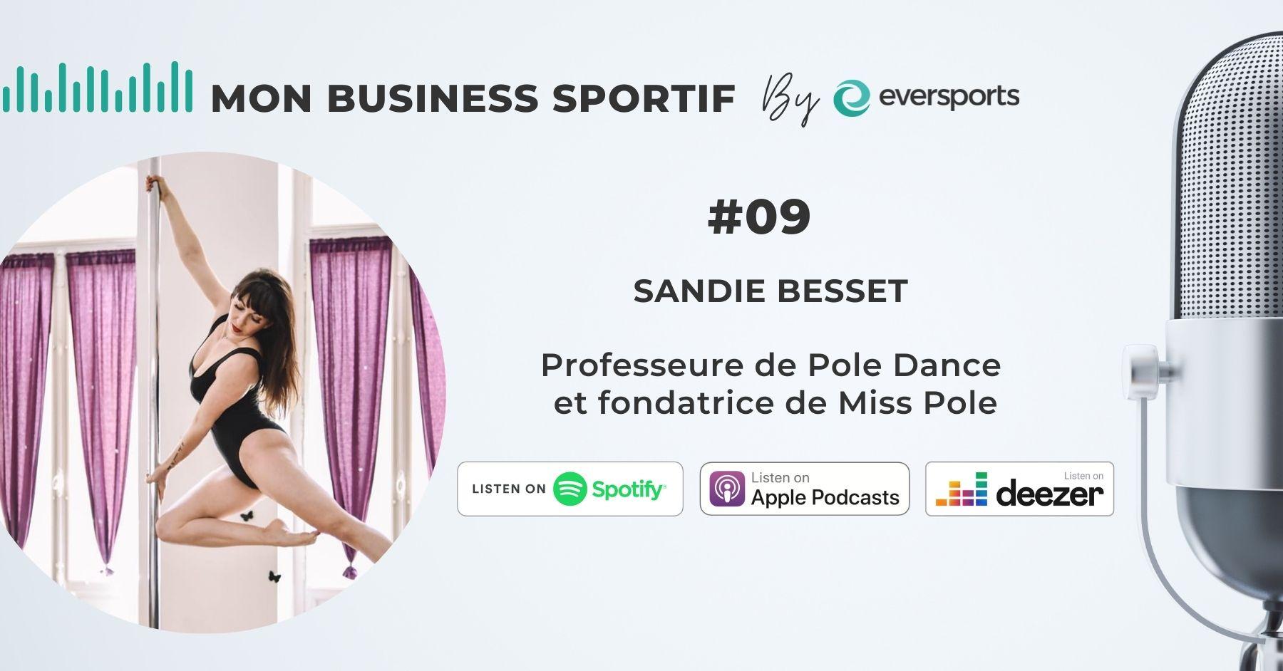 Dans ce 9ème épisode du podcast, nous parlons Pole Dance et réouverture avec Sandie Besset, la fondatrice de l'école de Pole Dance Miss Pole.