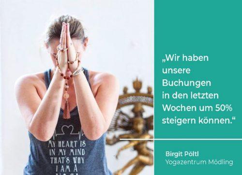 Birgit Pöltl, Yogazentrum Mödling