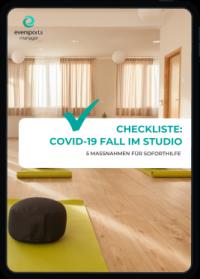 Wie umgehen mit einem Coronafall im Studio? Wir zeigen dir 5 Schritte von Studiobesitzer Marco Längst für den Ernstfall.