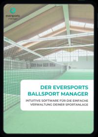 Lerne die Software für Ballsport Anlagen und Vereine aller Art kennen.