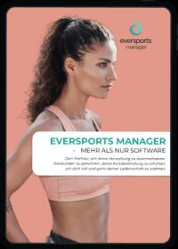 Erhalte einen Überblick über alle Funktionen des Eversports Managers.
