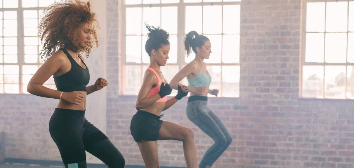 Fitness Studio Gruppen Workout