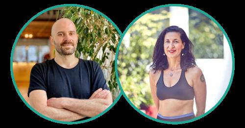Pietro und Oz von Om Yoga Stuttgart