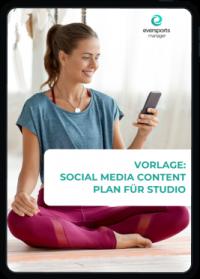 Erhalte unsere kostenlose Vorlage für einen Content Plan. Die Vorlage kannst du ganz einfach anpassen und so für deine Social Media Aktivitäten nutzen.