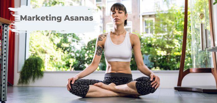 Die besten Yoga Marketing Asanas