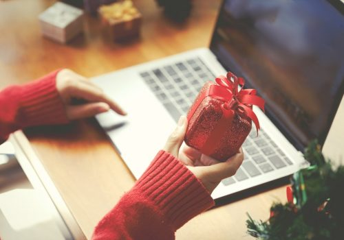 Voucher voor Kerstmis