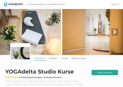 YOGAdelta Studio in Berlin