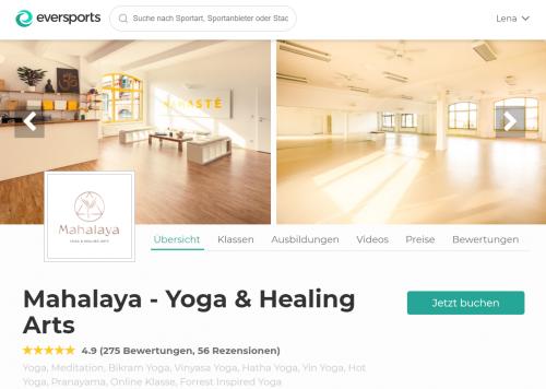 Top Yoga Studio in Berlin: Mahalaya Yoga & Healing Arts