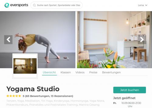Top Yoga Studios Berlin: Yogama Studio