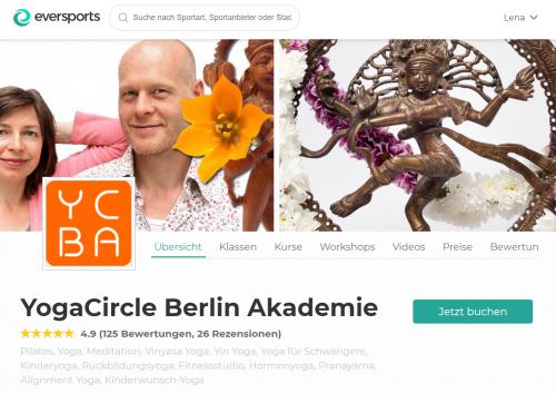 Top Yoga Studio Berlin: YogaCircle Berlin Akademie